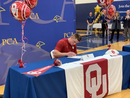 Easton Reeves signs with OU.