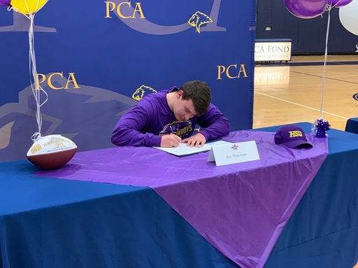 Ben Blakeman signs with Hardin-Simmons.
