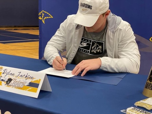 Dylan Jackson signs with Harding University