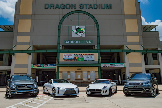 Amazing Park Place Jaguar Land Rover DFW Is Giving A Lucky Southlake Carroll  Dragons Fan The Opportunity To Kick A Field Goal For The Chance To Win A  Jaguar XE Or ...